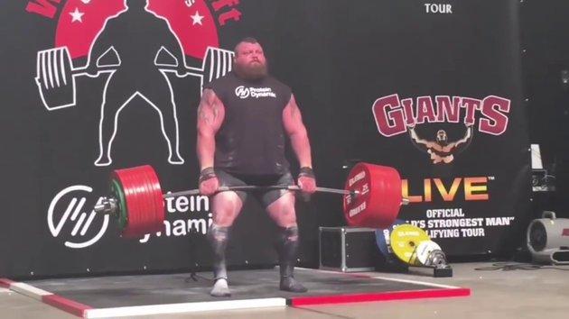 Eddie hall 500kg
