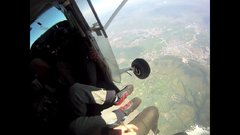 Thumbnail of Sky Diver Dodges Death Double Malfunction