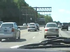 Thumbnail of Cop Trolls Slow Driver in the Fast Lane