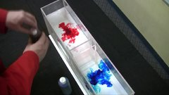 Thumbnail of Experiment shows how warm and cold water interact.