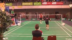 Thumbnail of Amazing badminton shot!