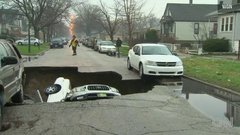 Thumbnail of Sinkhole vs Cars