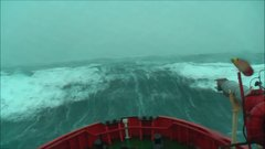 Thumbnail of Absolutely monstrous waves rocking ship