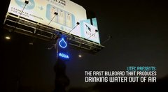 Thumbnail of Billboard that produces potable water from the air