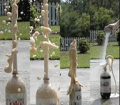 Thumbnail of Mentos + Diet Coke @ 1200 fps