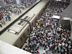 Thumbnail of Rush hour in the Chinese subway