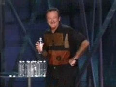 Thumbnail of Robin Williams on the invention of the 'sport' golf