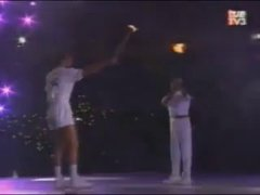 Thumbnail of 1992 Barcelona Olympic flame lighting