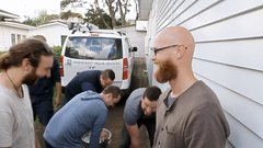 Thumbnail of Guy finds his house plumbed with beer