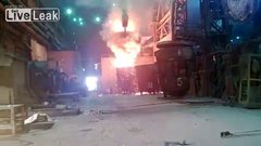 Thumbnail of Accident at a Russian steel plant