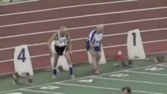 Thumbnail of Two 90-Year-Olds Compete In Sprint Race .