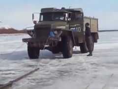 Thumbnail of Ice fishing with russians