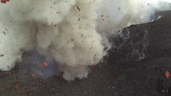 Thumbnail of Volcano eruption drone shooting with GoPro