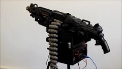 Thumbnail of Automated NERF sentry gun