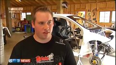 Thumbnail of 21 year old builds rally car that goes from 0 to 200 km/h in 7 seconds