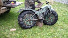 Thumbnail of Very cool Russian motorcycle