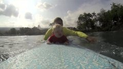Thumbnail of Baby's First Time Surfing