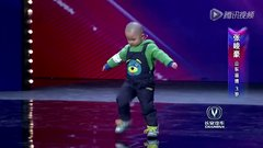 Thumbnail of Adorable 3 year old is very happy to dance