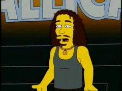 Thumbnail of Metalica in The Simpsons