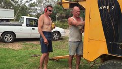 Thumbnail of Redneck Bogan vs Industrial Aircompressor