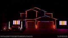 Thumbnail of Halloween Light Show 2015