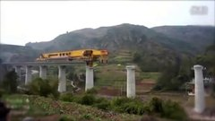 Thumbnail of Monster machine building bridges in China