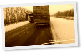 Thumbnail of A terrible accident Head-on collision of trucks
