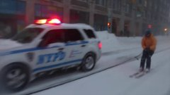 Thumbnail of Snowboarding with the NYPD during the Blizzard of 2016