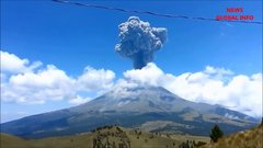 Thumbnail of Eruption of Mount Popocatepetl, Mexico 's International Airport Closed
