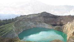 Thumbnail of Acid Lakes! Magic Volcano Kelimutu and three crater lakes of varying colors