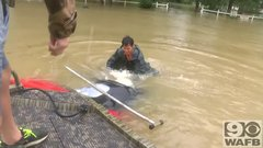 Thumbnail of Insane flood rescue