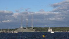 "Thumbnail of World's largest SAILING YACHT ""A"" ( Project WHITE PEARL ) 