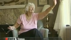 Thumbnail of Elderly Woman Waves at Students Every Day. Then She Got a HUGE Surprise.