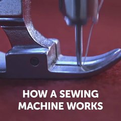 Thumbnail of How a sewing machine works?