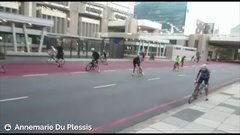 Thumbnail of What it's like to ride a bicycle with 100 km/h winds