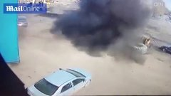 Thumbnail of Russian tire explodes
