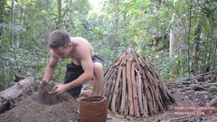 Thumbnail of Primitive Technology: Reusable charcoal mound