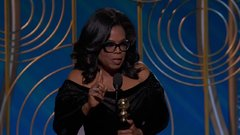 Thumbnail of Oprah Winfrey Receives the Cecil B. DeMille Award - Golden Globes 2018