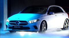 Thumbnail of World premiere of the new Mercedes-Benz A-class