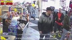 Thumbnail of Guy gets caught stealing 5 sandwiches from convenience store