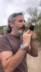 Thumbnail of Home owner yelling at hiker on Hawes Trail Loop Mesa AZ