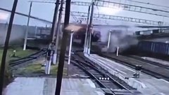 Thumbnail of Bridge collapses in Russia