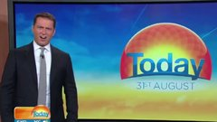 Thumbnail of A Great White breaching completely stunning an Australian newscast
