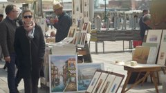 Thumbnail of Street artist in Venice