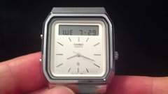 Thumbnail of Gesture controlled touchscreen calculator watch