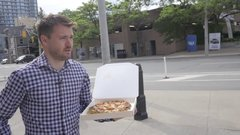Thumbnail of First Time Eating Vending Machine Pizza