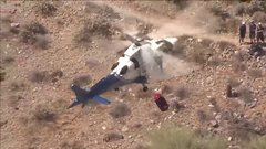 Thumbnail of Video shows helicopter rescue of injured hiker