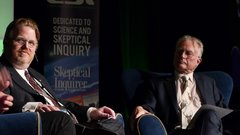 Thumbnail of Stephen Fry and Richard Dawkins in conversation
