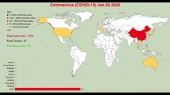 Thumbnail of 2019–2020 coronavirus pandemic global update (2020-01-22 to 2020-03-15)