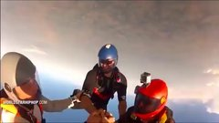 Thumbnail of Camera Man Saves His Buddy's Life While Sky Diving...